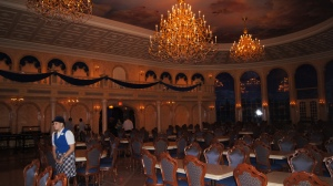 The Ballroom in The Be Our Guest Restaurant