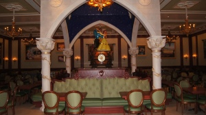 The Rose room in The Be Our Guest Restaurant