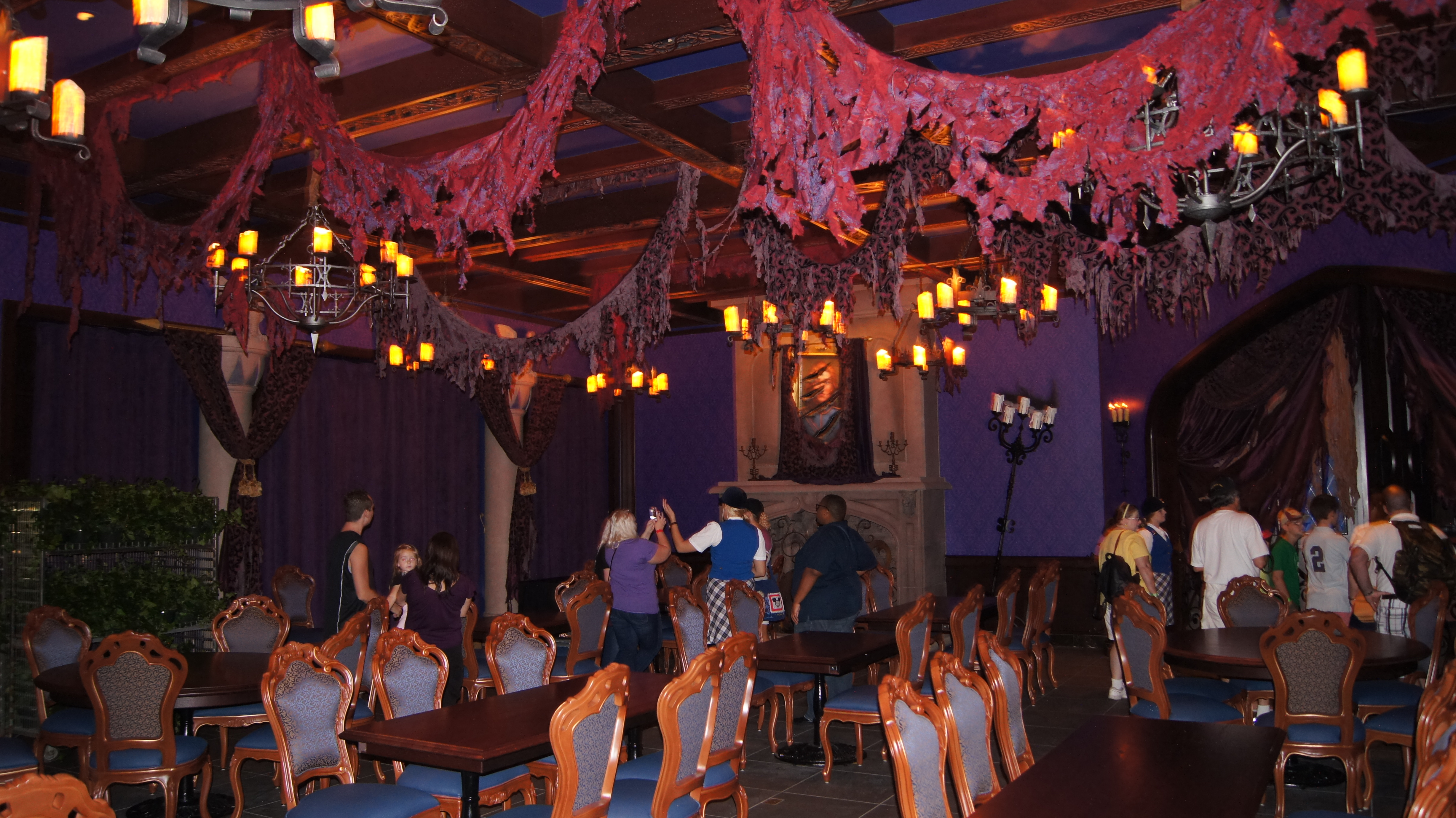 be our guest dining rooms | Little Mermaid | wdwSorcerer
