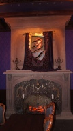 The painting of the Beast in the West Wing in The Be Our Guest Restaurant